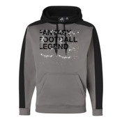 Distressed Fantasy Football Legend - JAmerica Polyester Fleece Hoodie