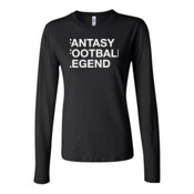 Fantasy Football Legend - Bella Long Sleeve Crew Tee