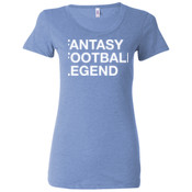 Fantasy Football Legend - Ladies' Triblend Short Sleeve T-Shirt