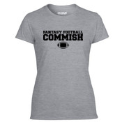 Fantasy Football Commish - Light Ladies Ultra Performance 100% Performance T Shirt