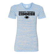 Fantasy Football Commish - (S) Ladies' Cotton/Polyester T-Shirt