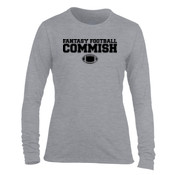 Fantasy Football Commish - Light Ladies Long Sleeve Ultra Performance 100% Performance T Shirt