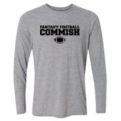 Fantasy Football Commish - Light Long Sleeve Ultra Performance 100% Performance T Shirt