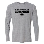 Fantasy Football Commish - Light Youth Long Sleeve Ultra Performance 100% Performance T Shirt
