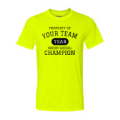 Custom Property of Your Fantasy Baseball - Light Youth/Adult Ultra Performance 100% Performance T Shirt