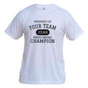 Custom Property of Your Fantasy Baseball - Vapor Basic Performance Tee
