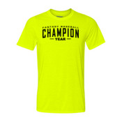 Custom Fantasy Baseball Champion Words - Light Youth/Adult Ultra Performance 100% Performance T Shirt