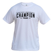 Custom Fantasy Baseball Champion Words - Vapor Basic Performance Tee