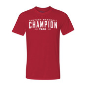 Custom Fantasy Baseball Champion Words - White - Ultra Performance 100% Performance T Shirt