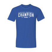 Custom Fantasy Baseball Champion Words - White - Youth Ultra Performance 100% Performance T Shirt