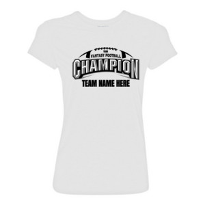 Fantasy Football Champion Arch Football - Light Ladies Ultra Performance 100% Performance T Shirt