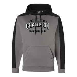 Fantasy Football Champion Arch Football - JAmerica Polyester Fleece Hoodie
