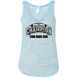 Fantasy Football Champion Arch Football - Ladies' Flowy V-Neck Tank