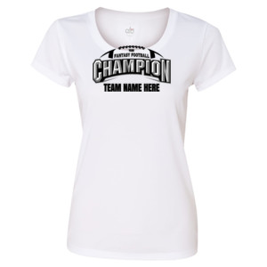 Fantasy Football Champion Arch Football - Light ALO Sport Ladies' Polyester T-Shirt