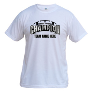 Fantasy Football Champion Arch Football - Vapor Basic Performance Tee