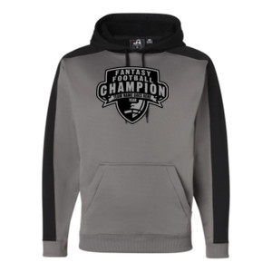 Custom Fantasy Football Champion Half Football - JAmerica Polyester Fleece Hoodie
