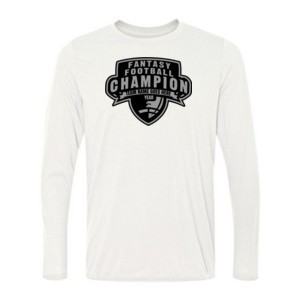 Custom Fantasy Football Champion Half Football - Light Long Sleeve Ultra Performance 100% Performance T Shirt
