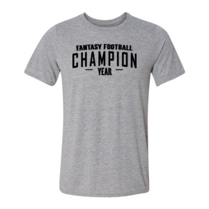 Custom Fantasy Football Champion Simple - Light Youth/Adult Ultra Performance 100% Performance T Shirt