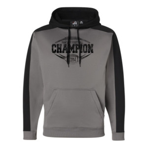 2014 Fantasy Football Champion H Outline - JAmerica Polyester Fleece Hoodie
