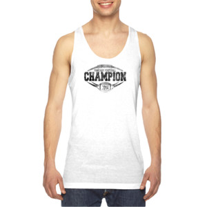 2014 Fantasy Football Champion H Outline - American Apparel Unisex Sublimation Tank