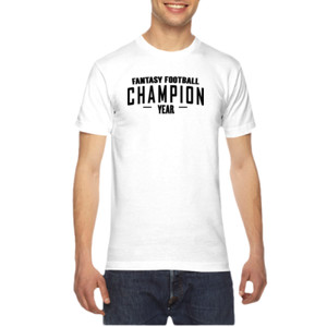 Custom Fantasy Football Champion Simple - American Apparel Unisex T-Shirt