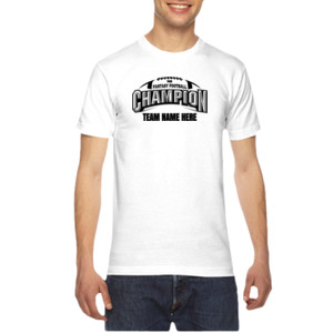 Fantasy Football Champion Arch Football - American Apparel Unisex T-Shirt