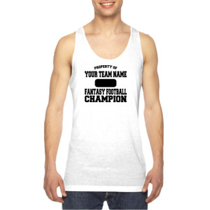 Custom Property of Fantasy Football Champion - American Apparel Unisex Sublimation Tank
