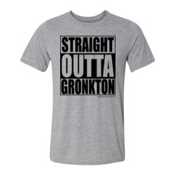 Straight Outta Gronkton Fantasy Football T-shirt - Light Youth/Adult Ultra Performance Active Lifestyle T Shirt