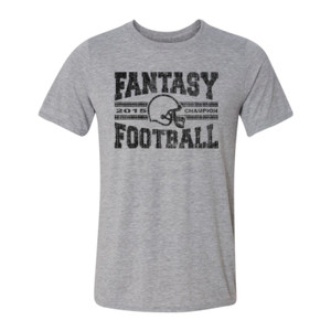2015 Fantasy Football Champion H Helmet - Light Youth/Adult Ultra Performance Active Lifestyle T Shirt