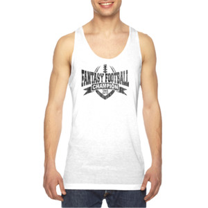 2015 Fantasy Football Champion V Outline - American Apparel Unisex Sublimation Tank