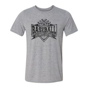 2015 Fantasy Baseball Champion Diamond Stars - Light Youth/Adult Ultra Performance Active Lifestyle T Shirt