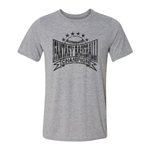 Fantasy Baseball Champion Baseball Stars - Light Youth/Adult Ultra Performance Active Lifestyle T Shirt