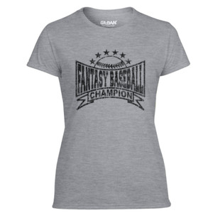 Fantasy Baseball Champion Baseball Stars - Light Ladies Ultra Performance Active Lifestyle T Shirt