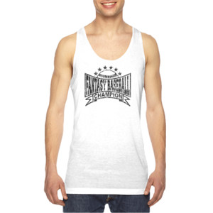 Fantasy Baseball Champion Baseball Stars - American Apparel Unisex Sublimation Tank