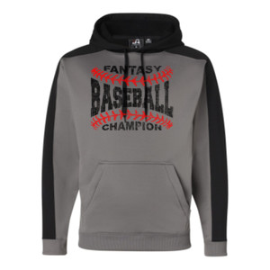 Fantasy Baseball Champion Laces  - JAmerica Polyester Fleece Hoodie