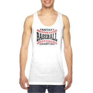 Fantasy Baseball Champion Laces  - American Apparel Unisex Sublimation Tank