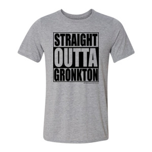 Straight Outta Gronkton - Light Youth/Adult Ultra Performance Active Lifestyle T Shirt