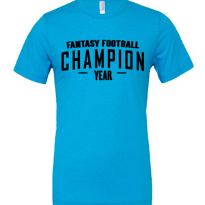 Custom Fantasy Football Champion Simple
