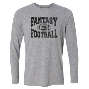 Fantasy Football Legend - Light Long Sleeve Ultra Performance Active Lifestyle T Shirt