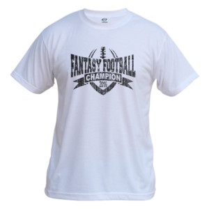 2016 Fantasy Football Champion V Outline - Vapor Basic Performance Tee