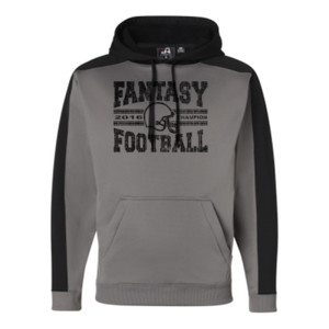 2016 Fantasy Football Champion H Helmet - JAmerica Polyester Fleece Hoodie
