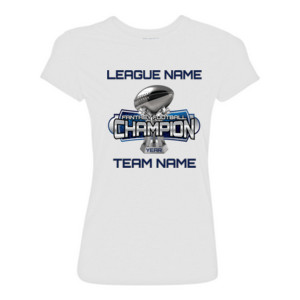 Fantasy Football Champion Large Trophy - Light Youth/Adult Ultra Performance Active Lifestyle T Shir - Light Ladies Ultra Performance Active Lifestyle T Shirt