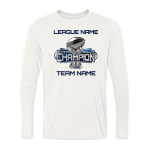 Fantasy Football Champion Large Trophy - Light Youth/Adult Ultra Performance Active Lifestyle T Shir - Light Ladies Long Sleeve Ultra Performance Active Lifestyle T Shirt