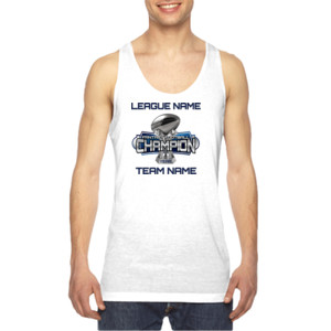 Fantasy Football Champion Large Trophy - Light Youth/Adult Ultra Performance Active Lifestyle T Shir - American Apparel Unisex Sublimation Tank