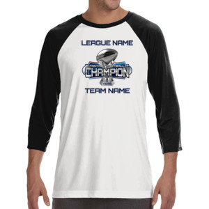 Fantasy Football Champion Large Trophy - Light Youth/Adult Ultra Performance Active Lifestyle T Shir - ALO 100% Performance Unisex Baseball T-Shirt