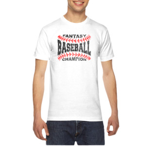 Fantasy Baseball Champion Laces  - American Apparel Unisex T-Shirt