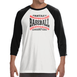 Fantasy Baseball Champion Laces  - ALO 100% Performance Unisex Baseball T-Shirt
