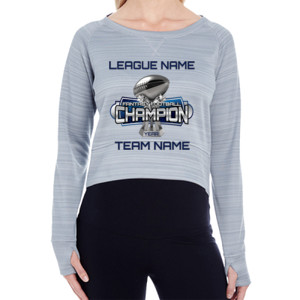 Fantasy Football Champion Large Trophy - Light Youth/Adult Ultra Performance Active Lifestyle T Shir