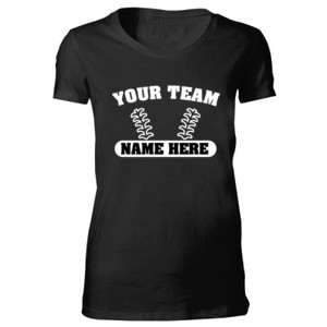 Custom Baseball Laces Full Custom - Bella Favorite T-Shirt
