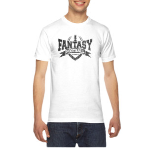 Fantasy Football Champion V Outline - American Apparel Unisex T-Shirt